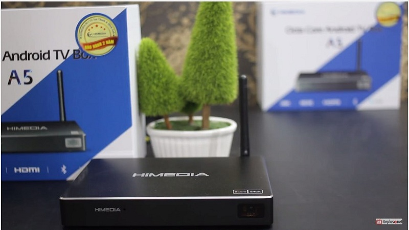 Review HIMEDIA A5 Octa Core Chạy Android TV Google 6 0