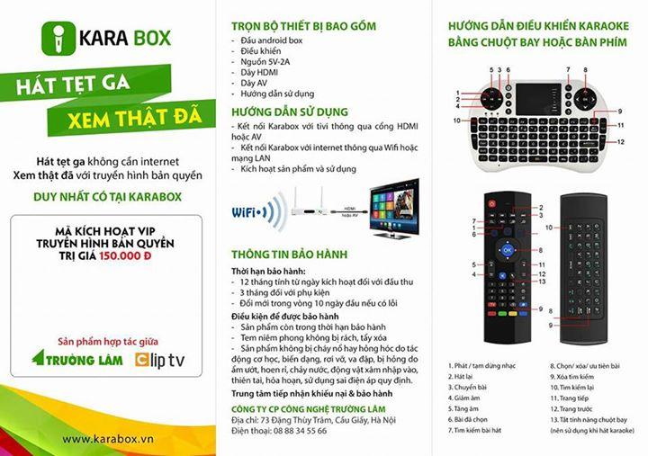 KARABOX K1 - ANDROID TV BOX TẠI HUẾ - HUEHDPLUS COM