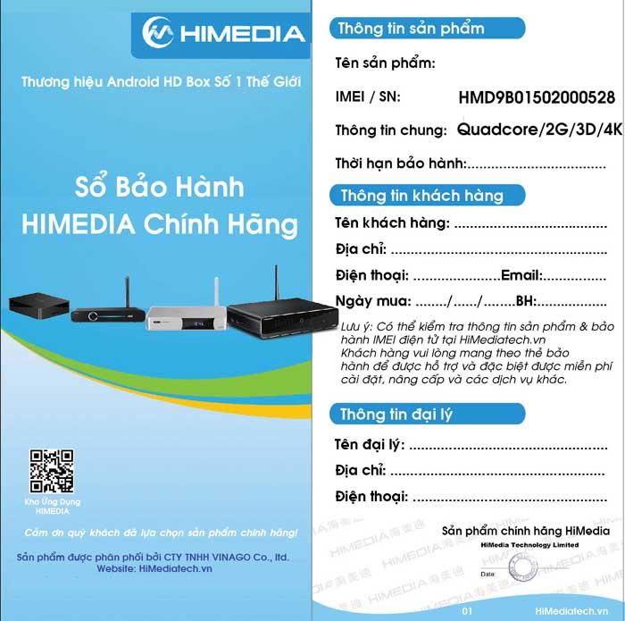 [HUEHDPLUS.COM] TV Box HIMEDIA H1 - Khởi đầu cho thế hệ box mới của HIMEDIA 2017
